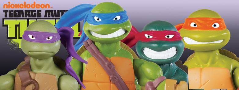 Flair Teenage Mutant Ninja Turtles Action Toys & Figures