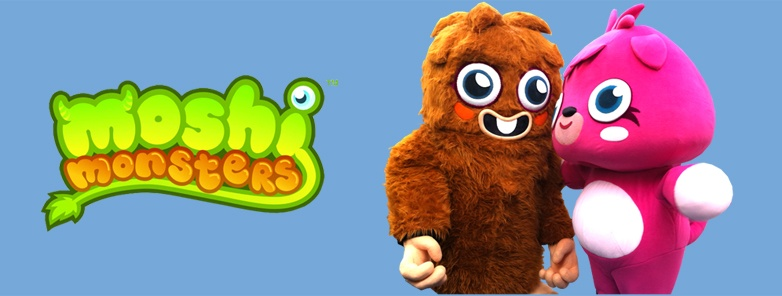Moshi Monsters Games & Puzzles