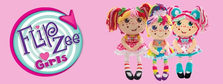 FlipZee Girls Dolls & Soft Toys