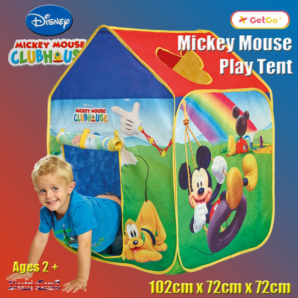 Mickey Mouse Clubhouse GetGo Pop Up Play Tent Suitable For
