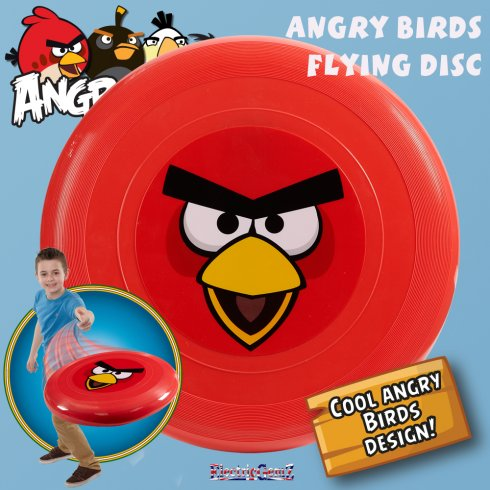 Angry Birds Official 28cm Flying Disc