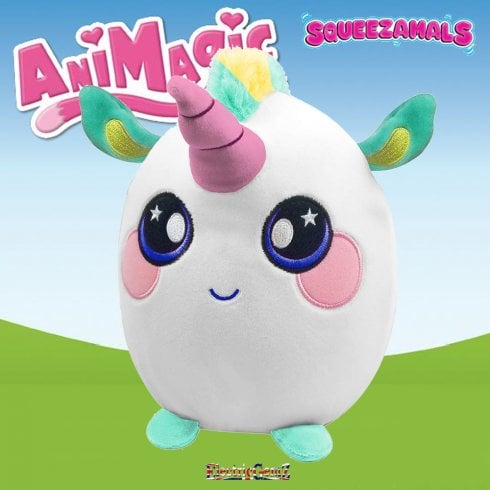 Animagic 25cm Large Squeezamals - Ula the Unicorn