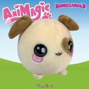 Animagic 9cm Medium Squeezamals - Dasie The Dog