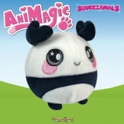 Animagic 9cm Medium Squeezamals - Pip The Panda
