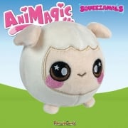 Animagic 9cm Medium Squeezamals - Sophia The Sheep