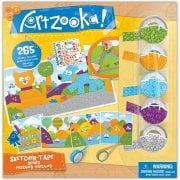 Artzooka Sketcher-Tape - Colourful Scenes