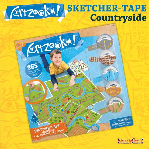 Artzooka Sketcher-Tape - Countryside