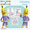 Bananas in Pyjamas Colouring Book