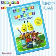 Bananas in Pyjamas Sticker Book