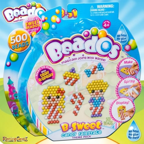 Beados 500 Piece Theme Pack - B-Sweet Candy Fairy Tale