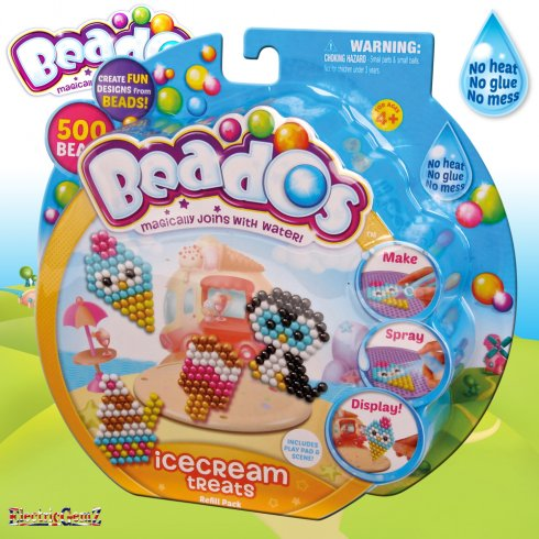 Beados 500 Piece Theme Pack Refill - Ice Cream Treats