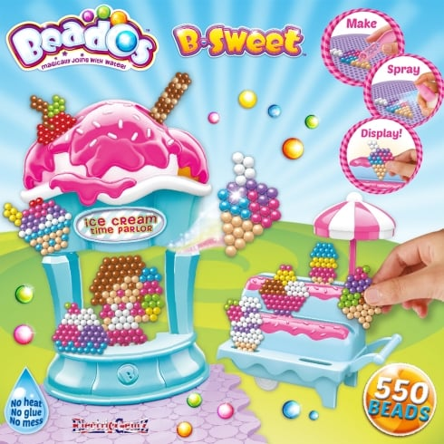 Beados 550 Piece B-Sweet Activity Pack - Ice Cream Time