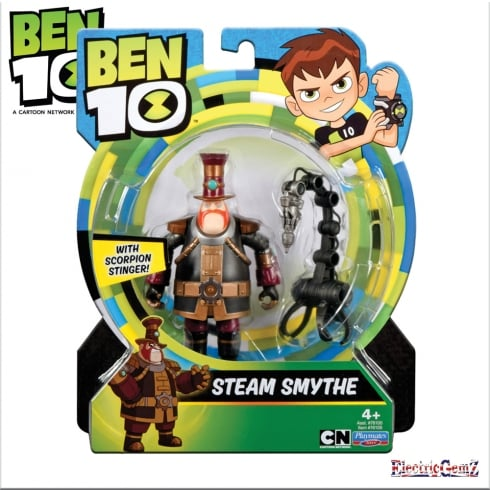 Ben 10 Action Figure - Steam Smythe