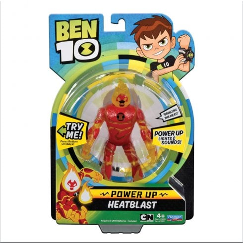 Ben 10 Deluxe Power Up - Heatblast