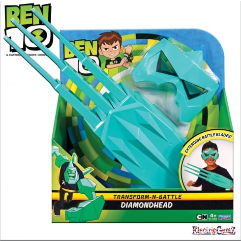 Ben 10 Transform-N-Battle Diamondhead Role Play Set