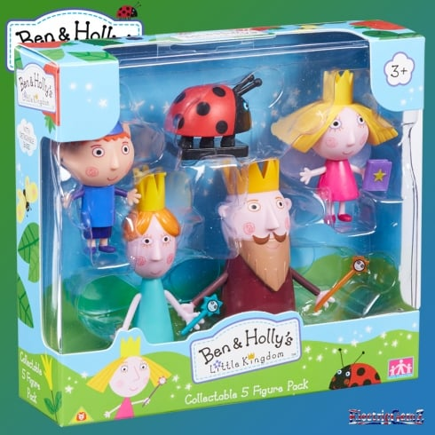 Ben & Holly's Collectable 5-Figure Pack