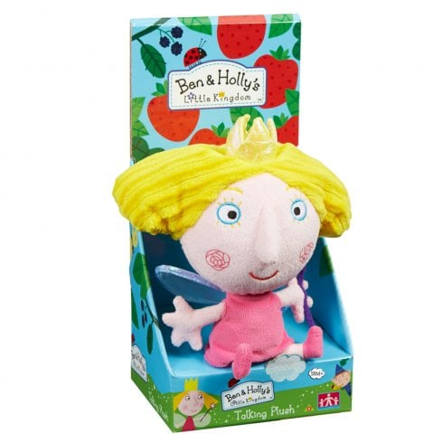 Ben & Holly's Little Kingdom 18cm Talking Collectable Plush - Princess Holly