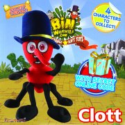 Bin Weevils 8in Plush Collectable - Clott