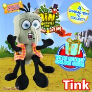 Bin Weevils 8in Plush Collectable - Tink