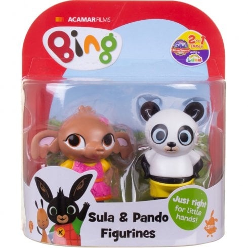 Bing & Friends Twin Pack - Sula & Pando