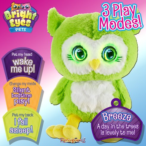 Bright Eyes Plush - Breeze the Owl
