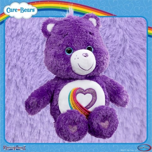 Care Bears 14in Rainbow Heart 35th Anniversary Plush