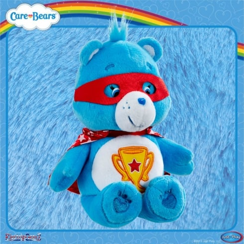 Care Bears 8in Bean Bag Superheroes - Champ Bear