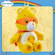 Care Bears 8in Bean Bag Superheroes - Funshine Bear