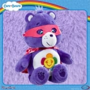 Care Bears 8in Bean Bag Superheroes - Harmony Bear