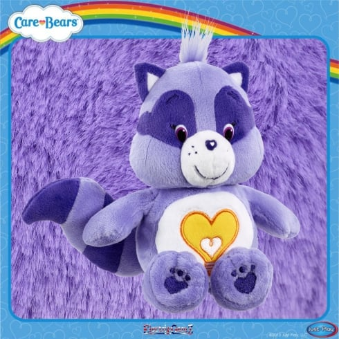 Care Bears Bean Bag Plush - Bright Heart Raccoon