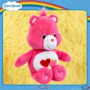 Care Bears Bean Bag Plush -  Love-a-Lot Bear