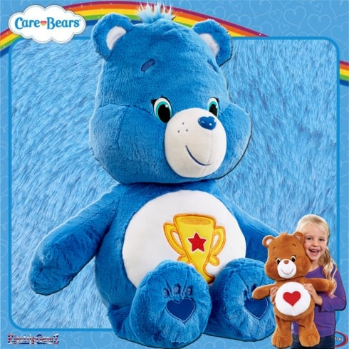 Care Bears Large 20in Plush - Champ Bear