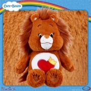 Care Bears Medium 14in Plush - Brave Heart Lion - with Bonus DVD