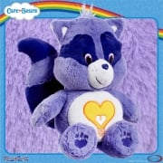 Care Bears Medium 14in Plush - Bright Heart Raccoon - with Bonus DVD