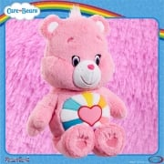 Care Bears Medium 14in Plush - Hopeful Heart Bear - with Bonus DVD