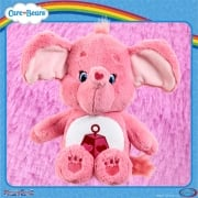 Care Bears Medium 14in Plush - Lotsa Heart Elephant - with Bonus DVD