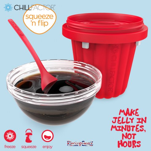 Chill Factor Jelly Maker - Red
