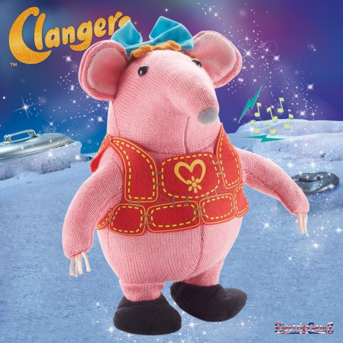 Clangers 9in Whistle & Dance Mother