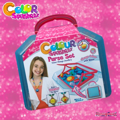 Colour Splasherz Purse Set