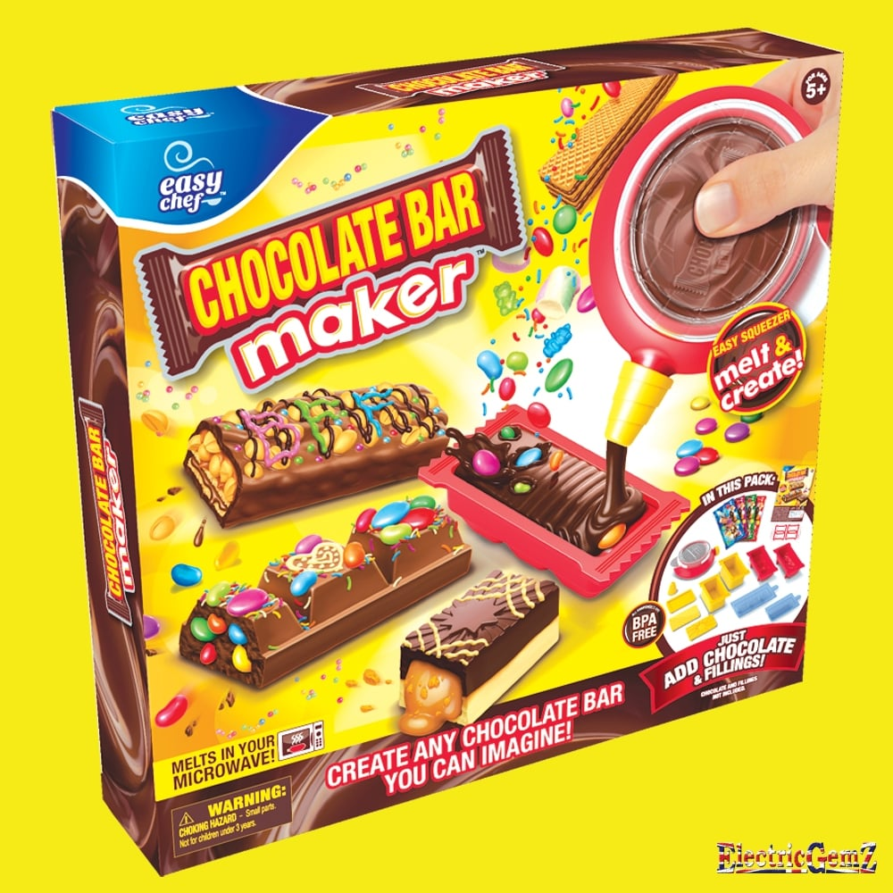 Create Easy Chef Chocolate Bar Maker