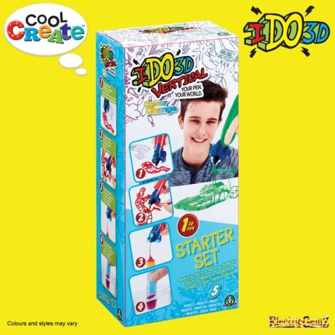 Cool Create - I Do 3D - Vertical Starter Set - Colour Change