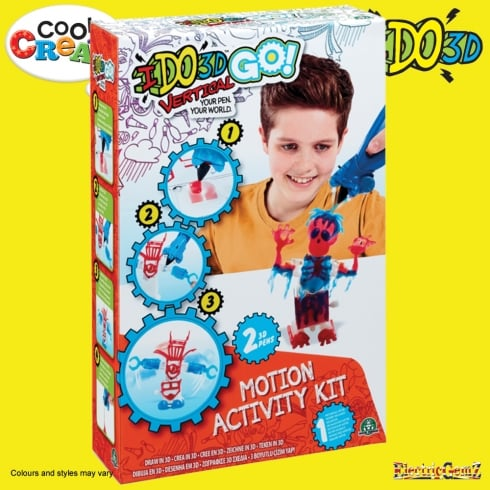 Cool Create I DO3D Go Robot & Zombie Motion Activity Kit