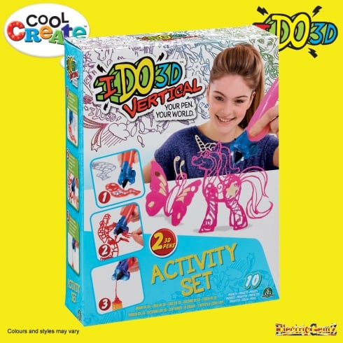 Cool Create IDO3D Vertical Activity Set - Butterflies and Fairies