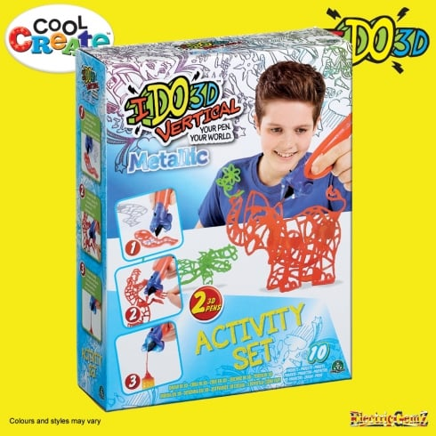Cool Create IDO3D Vertical Funky Studio - Metallic