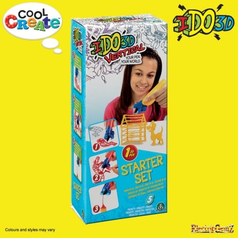 Cool Create IDO3D Vertical Starter Set - Pets Pack