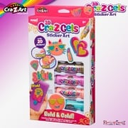cra-Z-art Cra-Z-Gels Sticker Art - Bold & Gold