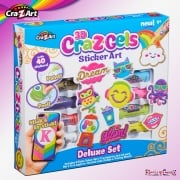 cra-Z-art Cra-Z-Gels Sticker Art Deluxe Set
