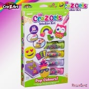 cra-Z-art Cra-Z-Gels Sticker Art - Pop Colours