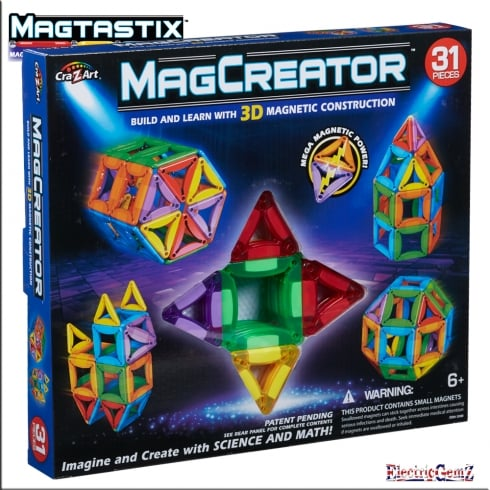cra-Z-art MagCreator 31-Piece Set
