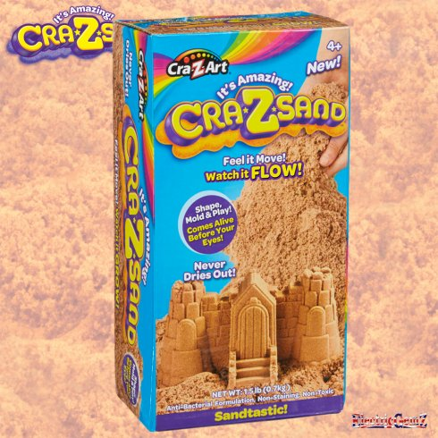 Cra-Z-Sand 1.5lb One Colour Box - Sandtastic!